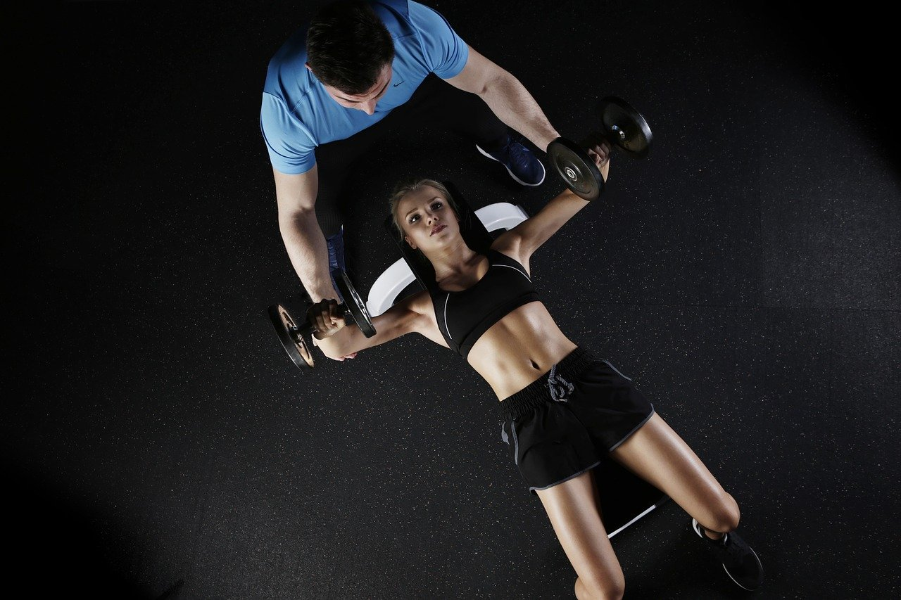 sport, strength training, woman